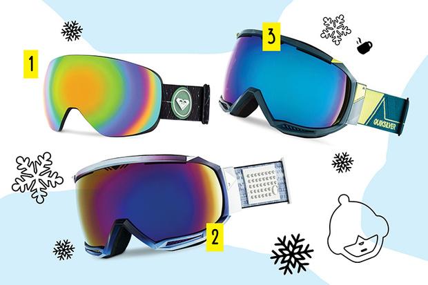Фото №1 - Top-sport: крутые маски для сноуборда
