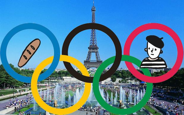 Фото №1 - Стал известен логотип Олимпийских Игр-2024, которые пройдут в Париже