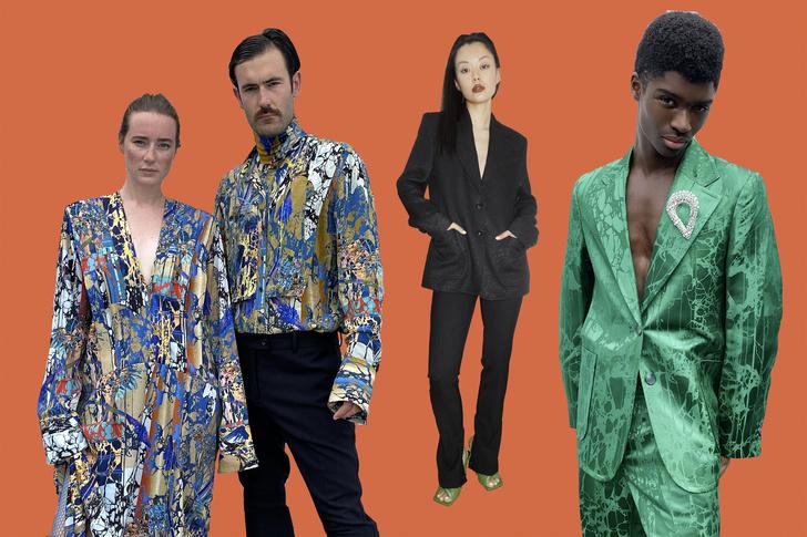 Фото №2 - В стиле диско: самые яркие образы из коллекции H&M Studio FW 2020