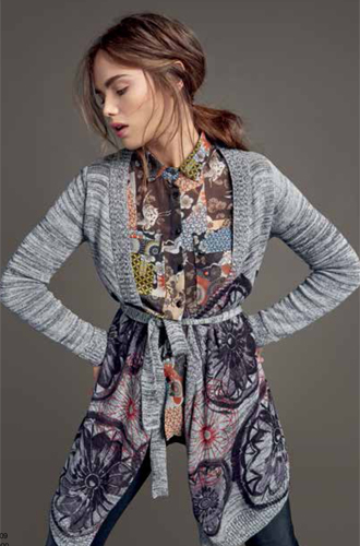 Фото №11 - Модная эклектика в новой осенне-зимней коллекции Desigual