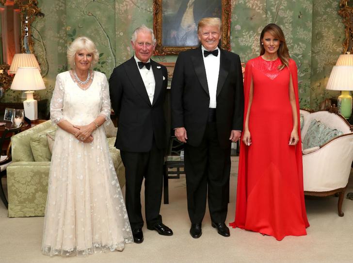 Фото №3 - Секреты Мелании: как Первая леди США выиграла модную битву у королевской семьи