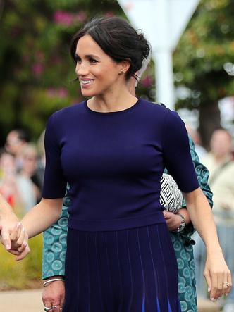Фото №17 - Демократичная герцогиня: 10 лучших причесок Меган на каждый день