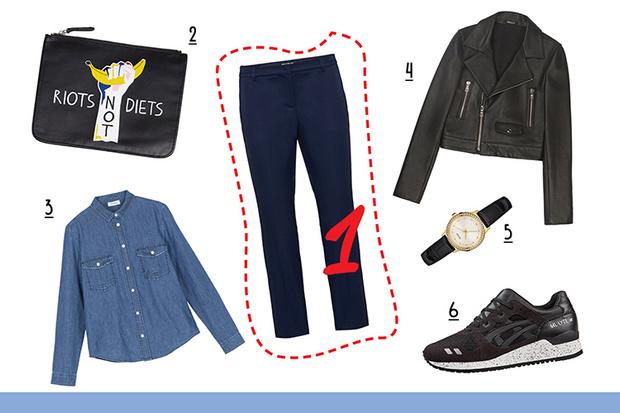 Фото №3 - С чем носить классические брюки