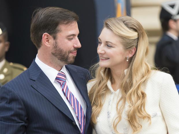 Фото №1 - Герцог и герцогиня Люксембургские впервые стали родителями