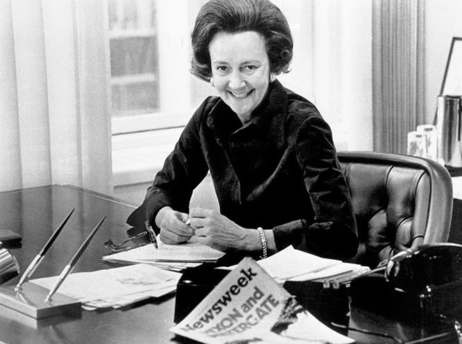 Фото №3 - Женщина против президента: кем на самом деле была героиня Мэрил Стрип из фильма «Секретное досье»