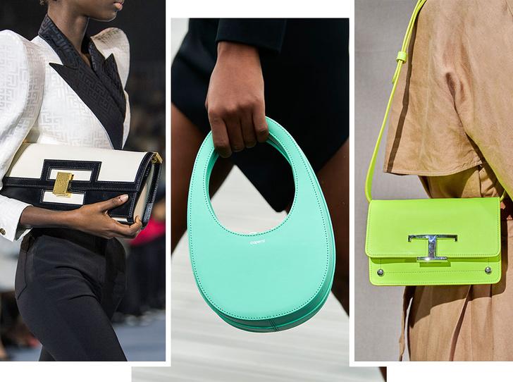 Фото №1 - Самые модные сумки весны и лета 2021