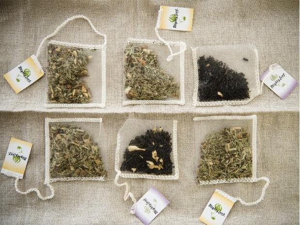 чайные пакетики в быту