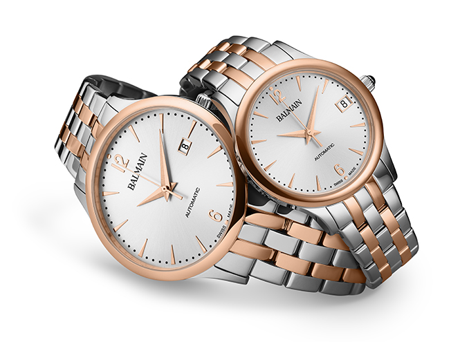 Фото №1 - Вещь недели: часы для двоих Classic R Automatic de Balmain