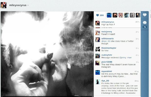 """Фото №2 - Майли Сайрус: «У меня нет """"Инстаграма"""", и я не курю»"""