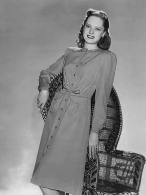 Типичное платье 1946 года.