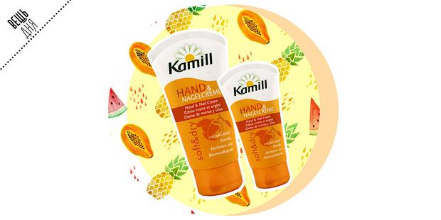 Фото №1 - Вещь дня: Крем для рук и ногтей Soft&Dry от Kamill