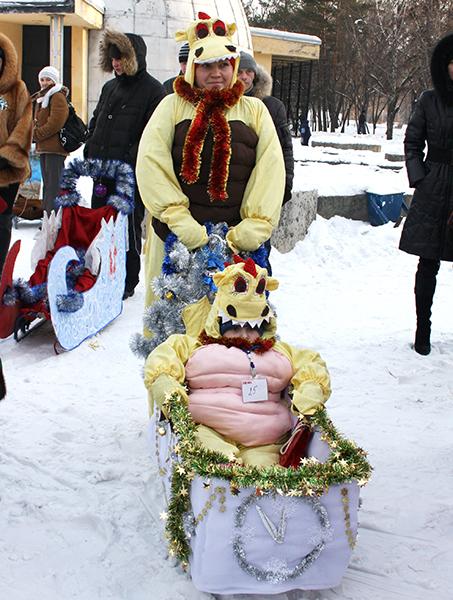 Фото №2 - Принимай участие в Параде санок в Новокузнецке!