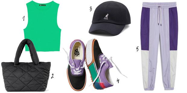 Фото №4 - Вещь дня: 3 образа с кроссовками для тех, кто не любит скуку