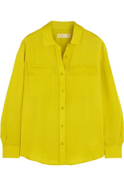 Рубашка, Michael Michael Kors, 11 600 руб.