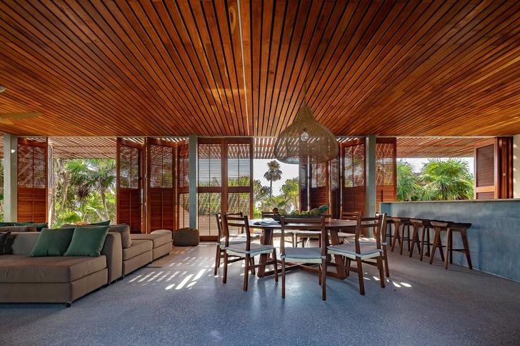Фото №5 - Бетонный дом на побережье Карибского моря в Тулуме
