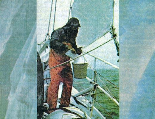 Фото №1 - Айсберг пересекает экватор