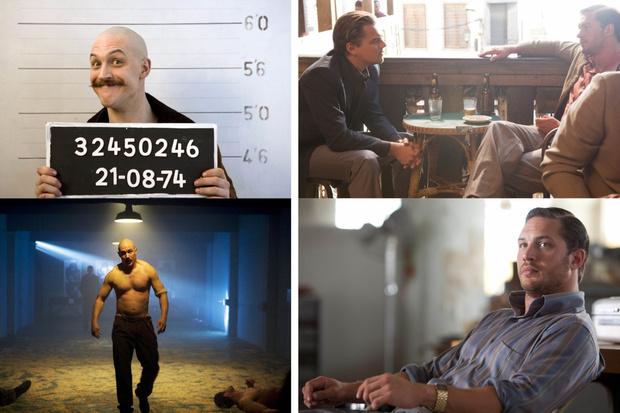 Кадры из фильмов «Бронсон», «Начало»