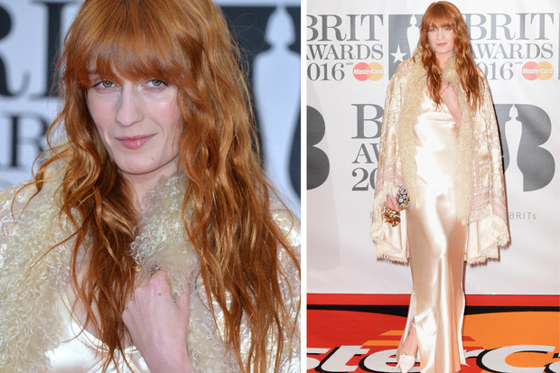 Флоренс Уэлч на Brit Awards 2016