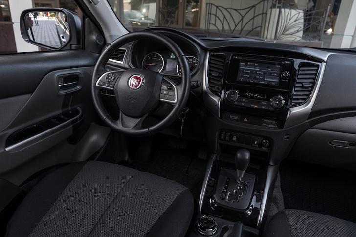 Фото №5 - Fiat Fullback – автомобиль для работы и путешествий