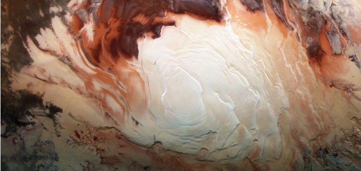 Фото №1 - На Марсе обнаружили большие запасы воды