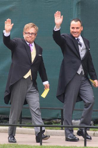 Фото №3 - Самые забавные моменты на королевских свадьбах (истории в фотографиях)