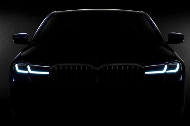 Фото №1 - Новый BMW 5-й серии ставит на красное