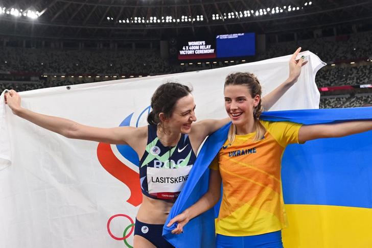 Ярослава Магучих и Мария Ласицкене