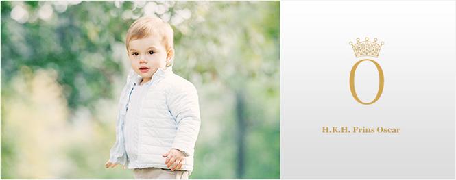 Фото №41 - Принц Оскар: два года в фотографиях