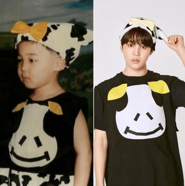 Фото №1 - Милота дня: BTS воссоздали свои детские фотографии