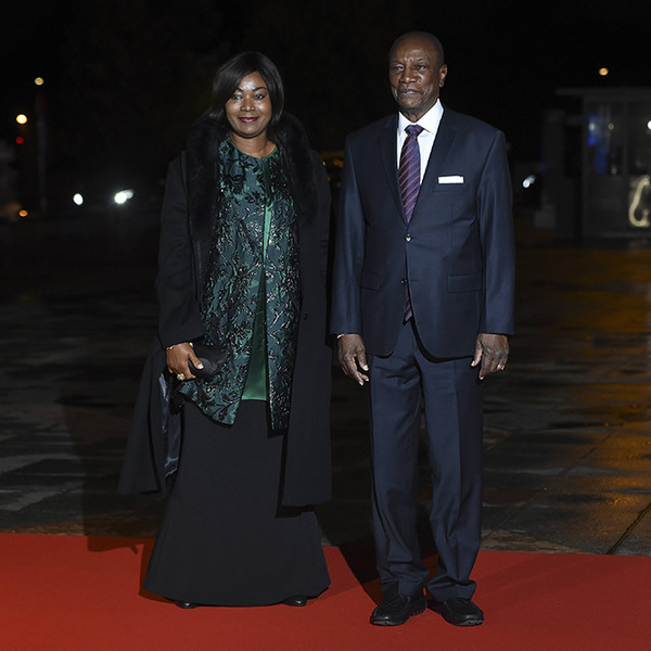 Фото №29 - Боги политического Олимпа: президенты и их жены на званом ужине в Париже