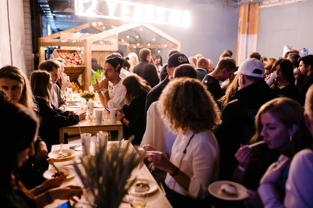 Фото №1 - Авторские сеты The Singleton Residents: меню восьмой pop-up вечеринки