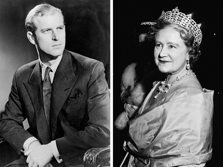 Фото №1 - Особое прозвище, которое королева-мать дала принцу Филиппу перед свадьбой с Елизаветой