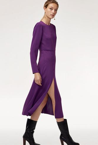 Фото №9 - 10 впечатляющих платьев в фиолетовой гамме, как у герцогини Меган