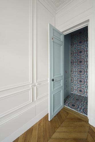 Фото №8 - Парижская квартира для творческой пары с двумя детьми