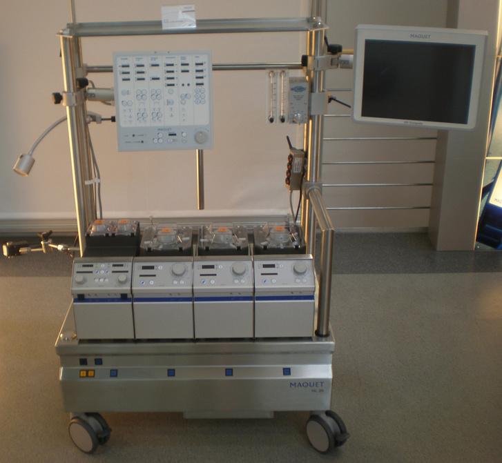 Фото №1 - Кто сделал аппарат искусственного кровообращения?