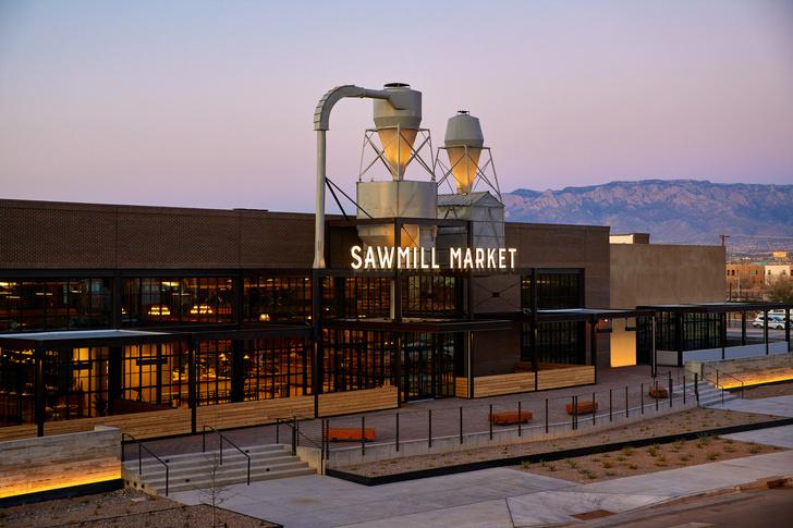 Фото №9 - Рынок Sawmill в здании бывшего склада в Нью-Мексико