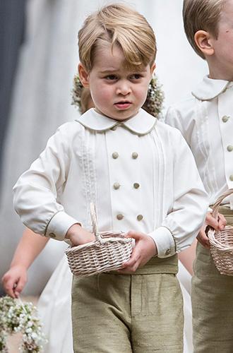 Фото №6 - Принцесса Шарлотта и принц Джордж на свадьбе Пиппы Миддлтон (фото)