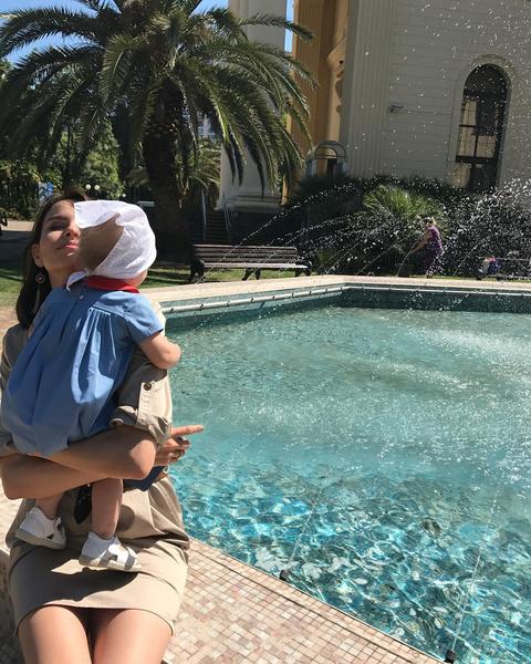 Фото №5 - Звездные родители: 9 самых трогательных фото недели