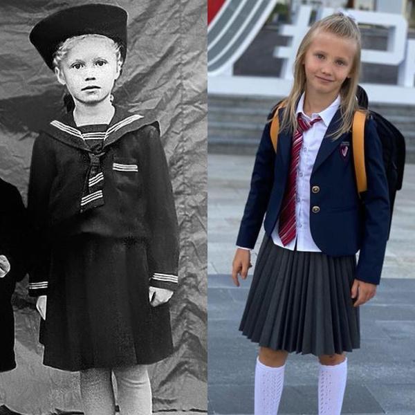 Фото №1 - Редкий кадр: Надежда Бабкина показала фото со старшими внуками