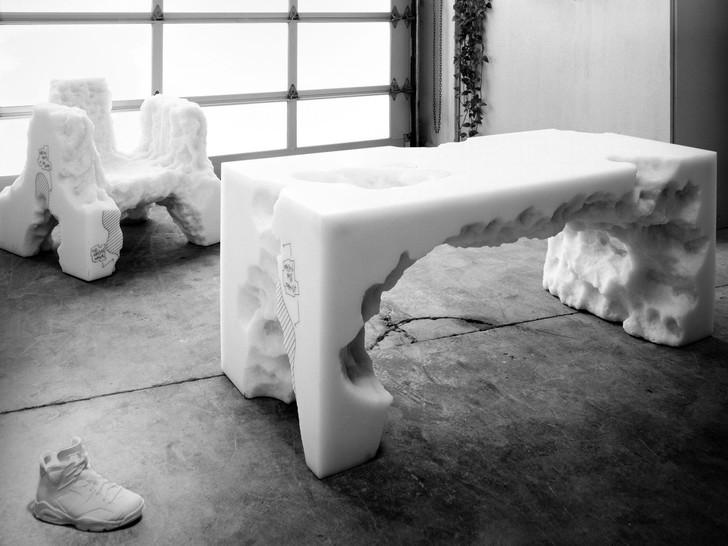 Фото №4 - Новая коллекция мебели Дэниела Ашрама на грани дизайна и арта