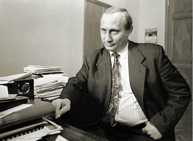 Владимир Путин, 1994 год.