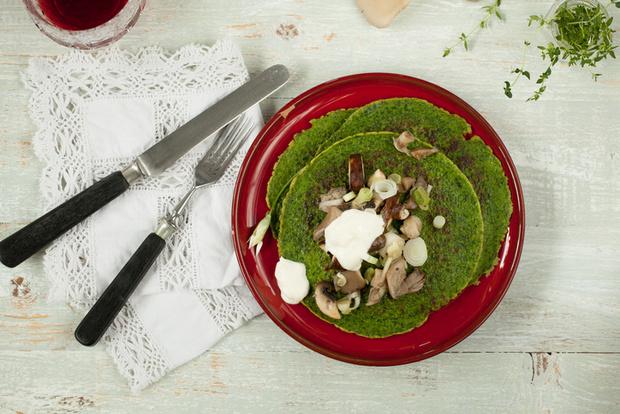 Фото №1 - Блин гороховый: необычные рецепты блинов
