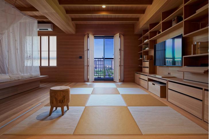Фото №3 - Аскетичная квартира 63 м² на Тайване