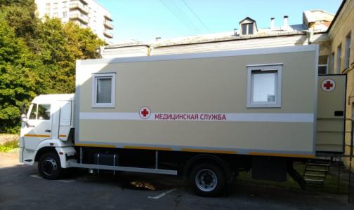 Фото №1 - В Петербурге заработает маммографический кабинет на КАМАЗе