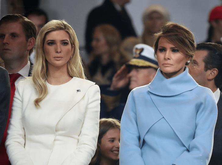 Фото №1 - Мелания против Иванки: как первая леди и дочь президента США «делят» Белый дом
