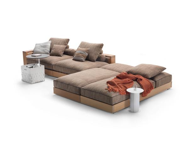 Фото №3 - Новая коллекция садовой мебели от Flexform