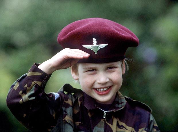 Фото №31 - Принц Уильям: история в фотографиях
