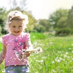 Только дети могут видеть счастье в мелочах! Койкова Марина 4 года, г. Армавир