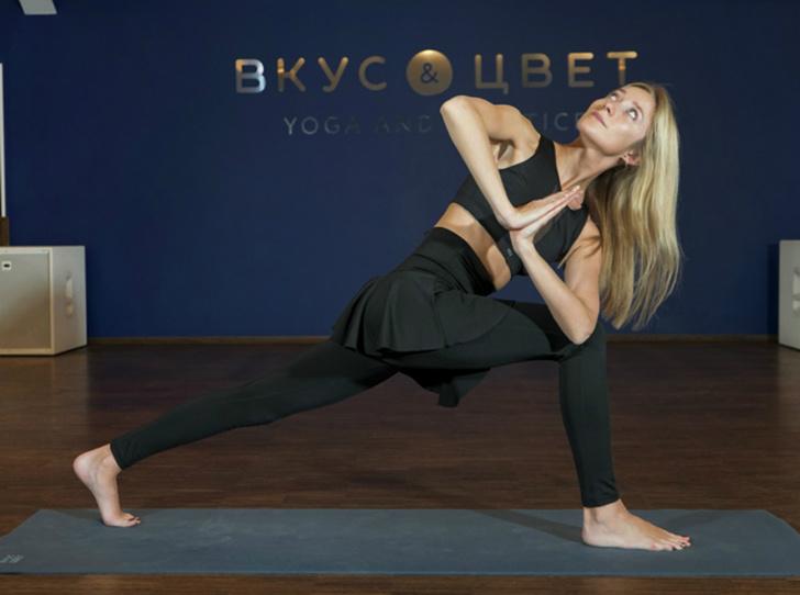 Фото №2 - Йога для похудения: 5 основных асан