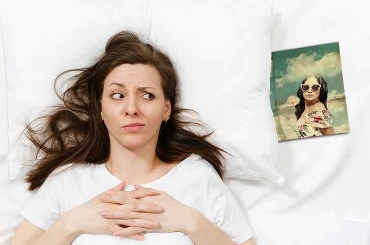 Фото №1 - Девушка чуть не бросила парня, решив, что нашла в его постели фото бывшей. Правда оказалась комичной
